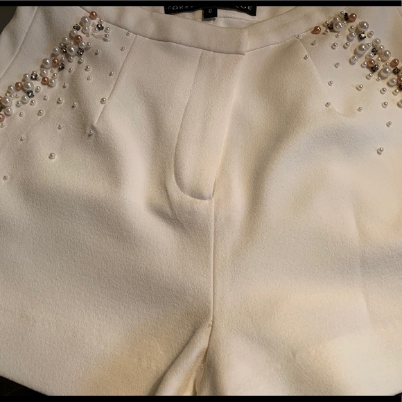 Forever Unique Pants - Forever Unique beaded pocket shorts